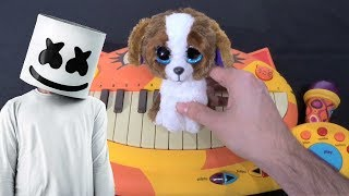 Marshmello & AnneMarie - Friends (Cat Piano, Dog, Chicken, Drum Calculator Cover)