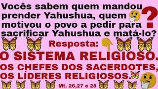 Yahushua não está nas religiões.