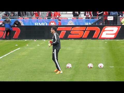 Julio Cesar Toronto FC Home Opener