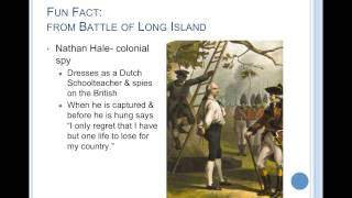 Battle of Long Island & Battle of Trenton & Princeton