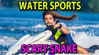 WATER SPORTS and SCARY SNAKE - Hey What's Going On Today, (a funny news show) Episode 30