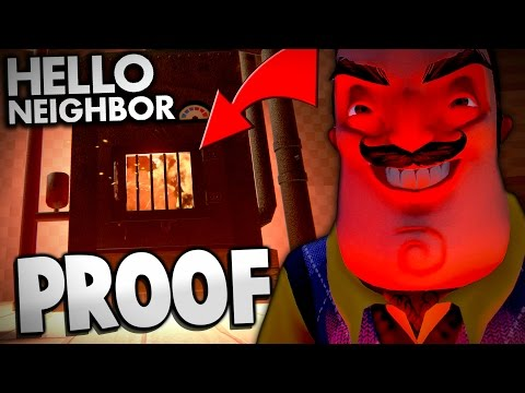 Hello Neighbor - PROOF THE NEIGHBOR'S THE DEVIL! | Hello Neighbor Alpha 2 Gameplay