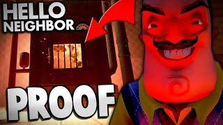 Hello Neighbor - PROOF THE NEIGHBOR'S THE DEVIL! | Hello Neighbor Alpha 2 Gameplay