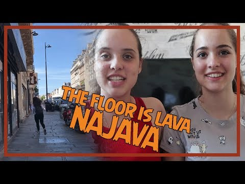 In the next video...The floor is LAVA!!!