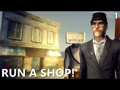 New Vegas Mods: Run A Shop 2! - Part 1