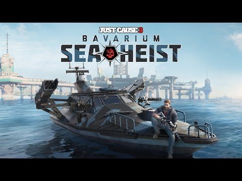 "Just Cause 3 - Bavarium Sea Heist DLC - Let's Play - ""Powered By Lightning (FULL DLC)"""