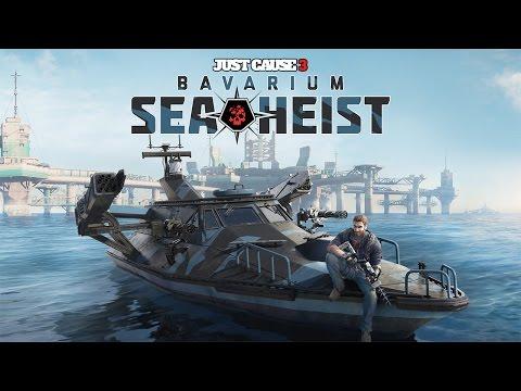 "Just Cause 3 - Bavarium Sea Heist DLC - Let's Play - ""Powered By Lightning (FULL DLC)"""