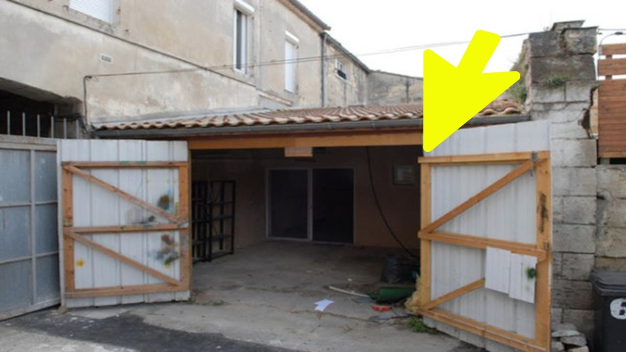 A Man Bought an Old Garage for $107,000…People discouraged him, but he took a risk and won…