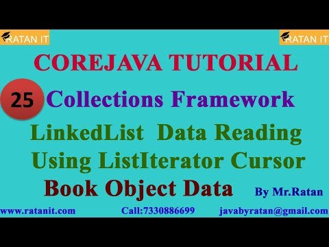 core-java-tutorial-||-collections-framework-||-video-25-||-linkedlist-data-reading-||-by-ratan-sir