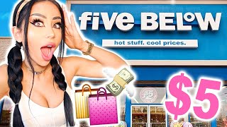 Five Below Shopping Spree!