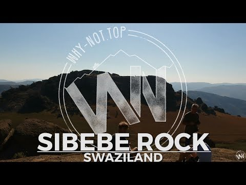 Hiking around SIBEBE ROCK and walking through huuge boulders | Swaziland | WNVLOG#10