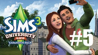 Let's Play - The Sims 3 University Life (Part 5) Draw Me Naked