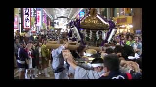 第36回 かわさき市民祭り 神輿パレード=銀柳街