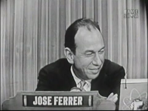 What's My Line?  Jose Ferrer; Betty White panel Jun 26, 1955
