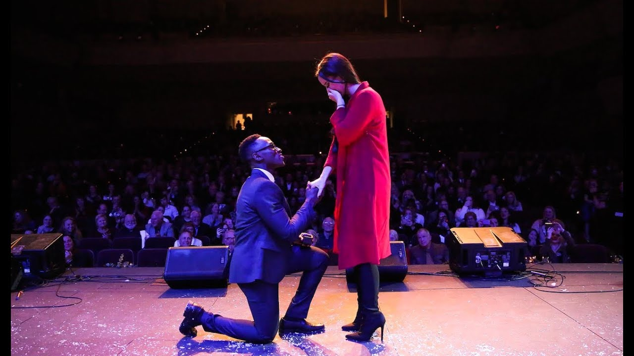 SURPRISE Engagement at SOLD OUT Concert! - Brian Nhira