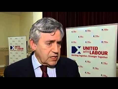 Gordon Brown storms out of interview in huff