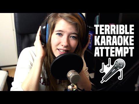 Terrible Karaoke Attempt!