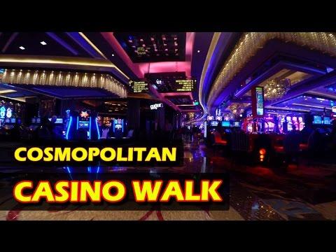 Walking through The Cosmopolitan Hotel & Casino in Las Vegas - Nov 2016 - 4K HD