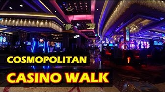 Walking through The Cosmopolitan Hotel & Casino in Las Vegas - Nov 2016 - 4K HD