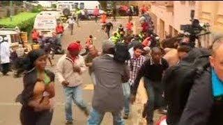 Westgate mall siege: most hostages have left, says Kenyan minister