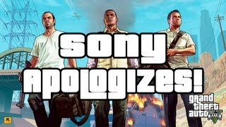 Grand Theft Auto 5 Officially Leaked Sony Apologizes (GTA V)