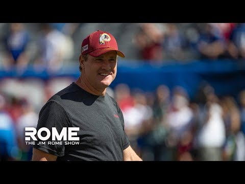 Jay Gruden Is Not The Reason The Redskins Have Been So Bad | The Jim Rome Show