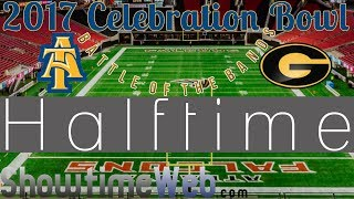 Grambling vs NCAT Halftime Livestream 2017 MEAC SWAC Celebration
