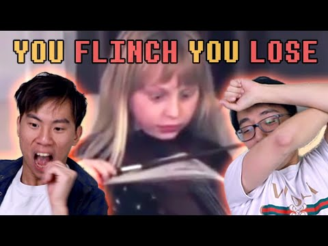 You Flinch You Lose (Watching Painful Violin Accidents)