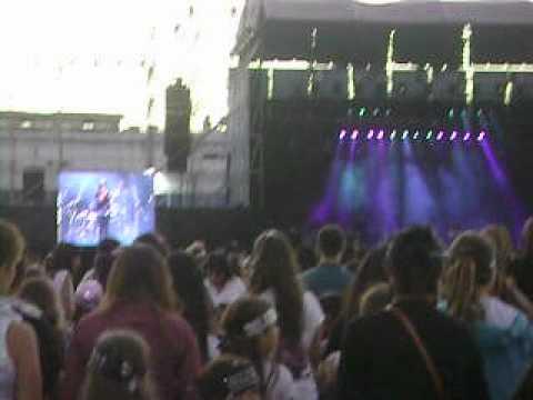 Selena Gomez in Argentina 2012 - College 11 (Opening Act)
