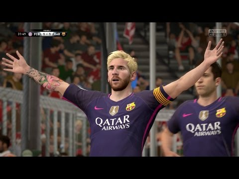 FIFA 17 | FC Bayern Munich vs FC Barcelona - Full Gameplay (PS4/Xbox One)