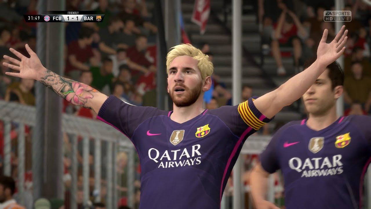 FIFA 17 | FC Bayern Munich vs FC Barcelona - Full Gameplay (PS4/Xbox One)