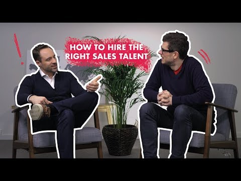 How to hire the right sales talent - Mark Herman and Michael Humblet | SAS Ep 25