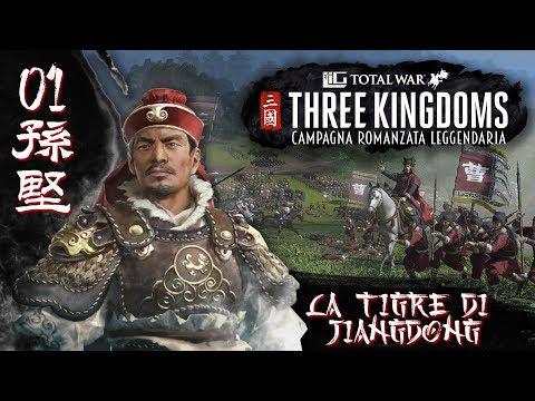 Total War Three Kingdoms   Sun Jian: La tigre di Jiangdong #1 [Campagna Romanzata Leggendaria]