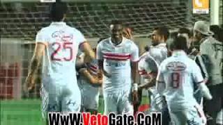 شاهد هدف الزمالك القاتل في بجاية 1-1 افريقيا 19 ابريل 2016