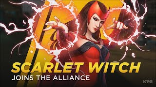 Marvel Ultimate Alliance 3: The Black Order - Scarlet Witch Gameplay (HD) [1080p60FPS]