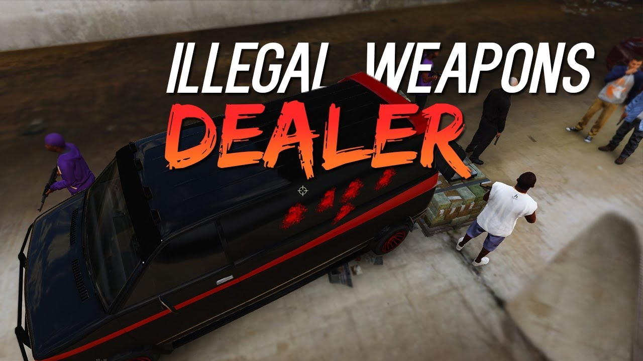 Illegal Weapons Dealer - GTA 5 Roleplay - STRP