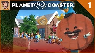 Let's Play Planet Coaster - Hard Mode - Part 1
