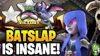 THESE BAT ATTACKS ARE INSANE! - TH12 Bat Slap 3 Stars! - Clash of Clans