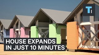 This expanding house is ready in 10 minutes thumbnail