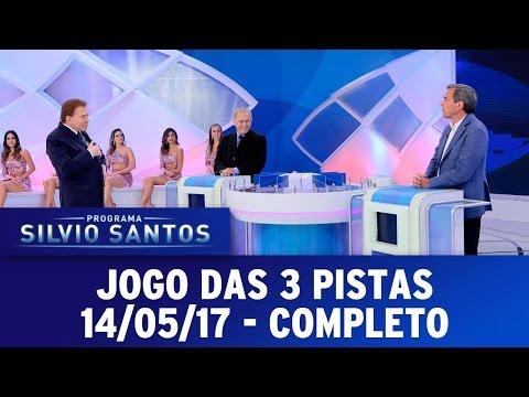 Jogo das 3 pistas com Joseval Peixoto e Marco Antonio Villa | Programa Silvio Santos (14/05/17)