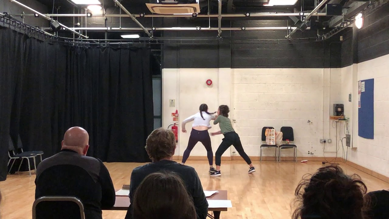 Kaitlyn Jackson and Lucia Vecchio Stage Combat Certification Performance