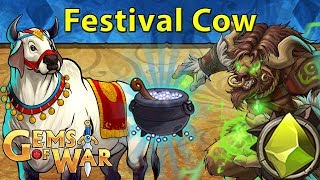 Gambar cover Gems of War: Event Objectives | Festival Cow