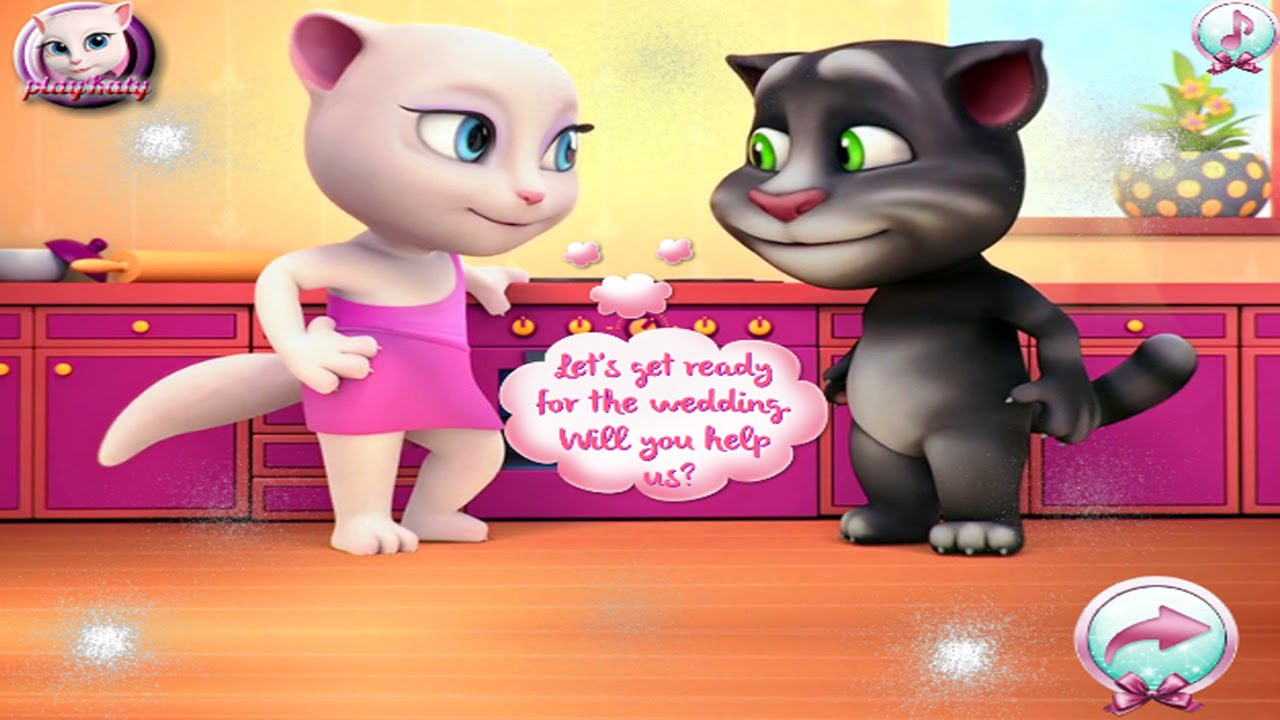 My Talking Angela Great Makeover My Talking Tom Episode ...