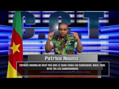 C' PAUL BIYA QUI TUE LES CAMEROUNAIS ,ET NON PATRICE NOUMA