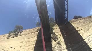 Банджи джамп в коринфский канал. Высота 70 метров