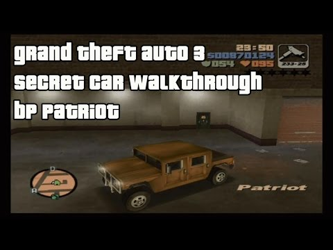 Grand Theft Auto III - Secret Car Walkthrough Part 11 - BP Patriot