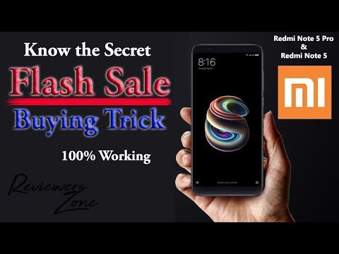 Redmi Note 5 Pro | Note 5 | Flash Sale | Buying Trick | Without COD | 100% Working