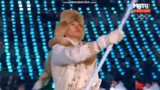 Олимпиада-2018: Казахстан на Церемонии открытия
