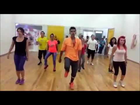 ZUMBA FIREBALL  PITBULL  CHOREOGRAPHY  BY ISRAEL G