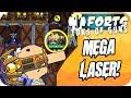 Forts Multiplayer 4v4 Gameplay Powerful Mega Laser